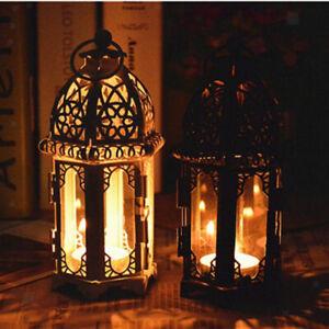 Weinlese marokkanische Art Kerzenlaterne Teelicht Kerzenhalter zuhause