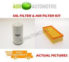 Kit de servicio filtro aire aceite Diesel Para Ford Transit Tourneo 2.5 69 BHP 1994-00