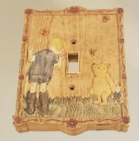 Disney Classic Winnie the Pooh Charpente Christopher Piglet Light Switch Plate