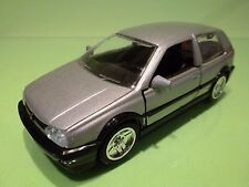 CHINA SS 7713 VW VOLKSWAGEN GOLF 3 GT -  METALLIC GREY  1:24 - GOOD CONDITION