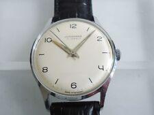 JUNGHANS 17 Jewels Cal. 93S10 Manufaktur Max Bill Design 1960er Jahre