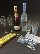 """Moet Chandon Champagner + Belvedere Vodka """"Party Set"""" 12%Vol. 40%Vol."""