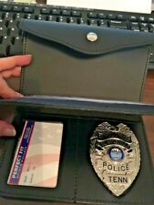 Ladies Badge Wallet by Perfect Fit, Shield Style badge cut for large shield/eagl