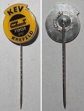 Anstecknadel KEV 1981 e.V. Krefeld Eishockey Germany hockey
