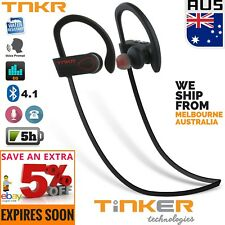 Wireless Bluetooth Waterproof Sports Headphones Earphones Headset Earbud Mic 4.1