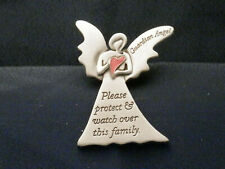 Guardian Angel Visor Clip - Please protect & watch over this family