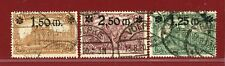 Germany 1920, #115-17, Surcharged, Used, SCV $213.25