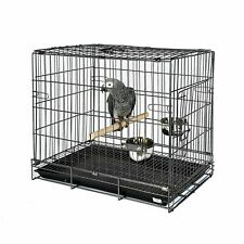African Grey Bird Parrot / Parakeet Travel Carry Cage