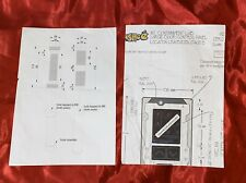 Pokemon: Detective Pikachu - Production Used Concept art of Mewtwo Lab! Rare!