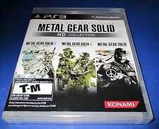 Metal Gear Solid HD Collection Sony PlayStation 3 *Factory Sealed! *Free Ship!