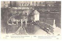 CPA 02 - SOISSONS (Aisne) - 1914... Le vieux pont Saint Waast à Soissons détruit
