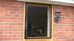 SECURITY MESH GRILLE, window grill, made to measure