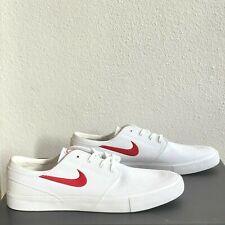 Nike SB Zoom Janoski Mens Size 14 Canvas Shoes JQ2 Unisex White AR7718-103 New