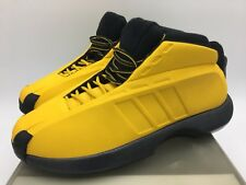 82e5875a18cb 2001 Original Adidas Kobe 1 Sunshine Yellow All Star Limited Ed. Size 9  Vintage