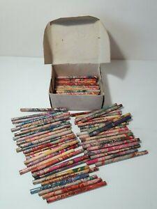 "Soviet Union Wood black lead Pencils ""Space"" 100 pcs 113 mm USSR"