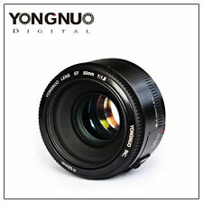 YONGNUO YN EF 50mm Prime Fixed Lens AF MF F/1.8 for Canon DSLR EOS Camera UK