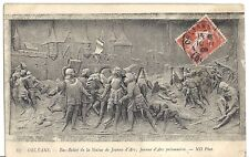 French Photo Image PC- Joan of Arc Jeanne d Arc- In Battle- Knight- Castle- 1909