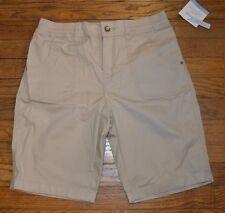 Croft & Barrow Bermudas Talle Medio Pantalones Cortos 4 MSRP cintura cómoda