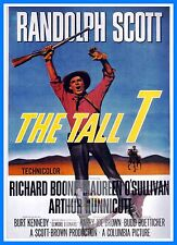 The Tall T  Westerns & Cowboy Movie Posters