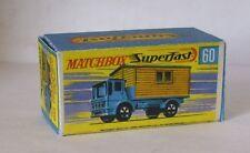 Repro Box Matchbox Superfast Nr.60 Office Site Truck