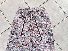 Ladies XS womens long pyjamas pyjama pants PJs pink grey bling jewels Sussan