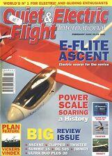 QUIET & ELECTRIC FLIGHT INTERNATIONAL MAGAZINE 2005 FEB VICKERS VINDEX, TRINITY