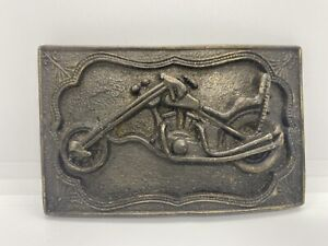 Vintage Motorcycle Biker Metal Belt Buckle