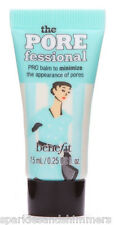 Benefit The POREFESSIONAL Pro Balm PRIMER 7.5ml TRAVEL SIZE Minimises Pores