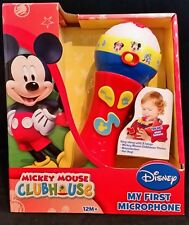 DISNEY MICKEY MOUSE CLUBHOUSE My First Microphone Musical Toy 12M+ Gift
