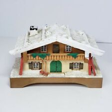 Vintage Wooden Chalet Music Box Erzgebirge Mary Had A Little Lamb See Video