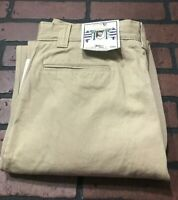 Cotler Casual Pleated Khaki Pants Men's Size 36 x 34