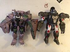 Transformers Beast Wars 10th Anniversary Exclusive Optimus Primal & Megatron
