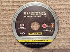 resistance fall of man platinum-sony playstation 3 ps3 disk only uk pal