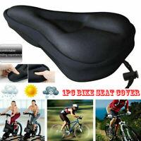 Mountain Bike Soft Gel Pad Comfy Cushion Saddle Seat Cover Bicycle-Cycle UK
