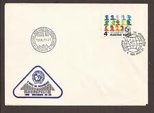 Hungary 1986 FDC. Youth conference