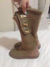Bearpaw Sheepskin Boots Size 10