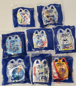 HASBRO GAMING McDonalds Happy Meal Toys February 2021 1-8 + Complete Sets
