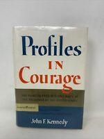 Profiles In Courage by John F Kennedy 1961 HB DJ Inaugural Edition Collectible