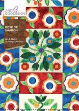 Rose of Sharon Anita Goodesign Embroidery Machine Design Cd New