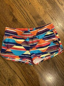 Roxy womens multicolor swim board shorts size small NWOT