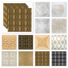 10 qm Deckenplatten Styroporplatten farbig XPS 50x50cm große Auswahl Sparpaket