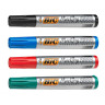BIC Permanent Marker Pen 2300 THICK Chisel Tip BLACK / BLUE / RED / GREEN