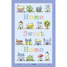 Mccaw Allan HOME SWEET HOME Asciugamano di cotone