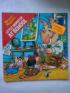 1978 MERCER MAYER LITTLE MONSTER AT SCHOOL BOOK