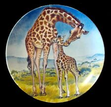 """A Kiss For Mother"" Collector's Plate by Yin-Rei Hicks (1981) Nm- Knowles"