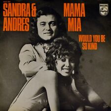 "7"" SANDRA REEMER & ANDRES DRIES HOLTEN Mama Mia PHILIPS Dutch-Press orig. 1972"