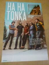 POSTER by HA HA TONKA heart shaped mountain For The bands tour album cd Promo