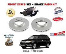 Apto Subaru Forester 2.0 DT 2.0i 2012> Juego Nuevo freno disco delantero +