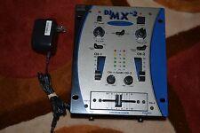 Crate Pro Audio 2 Channel DJ Mixer Rack Mount DJMX-2 DJMX2 DJ MX FREE SHIPPING
