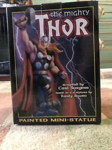THE MIGHTY THOR statue BOWEN DESIGNS 1999 MARVEL 5000 Pieces
